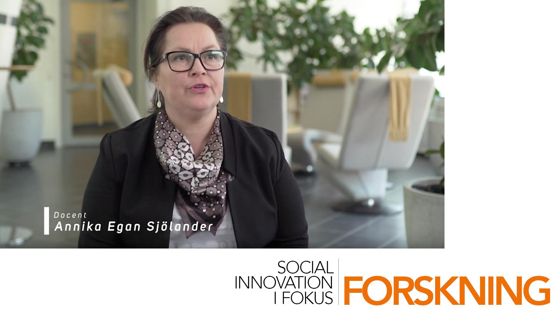 Intervju med miljöforskaren Annika Egan Sjölander