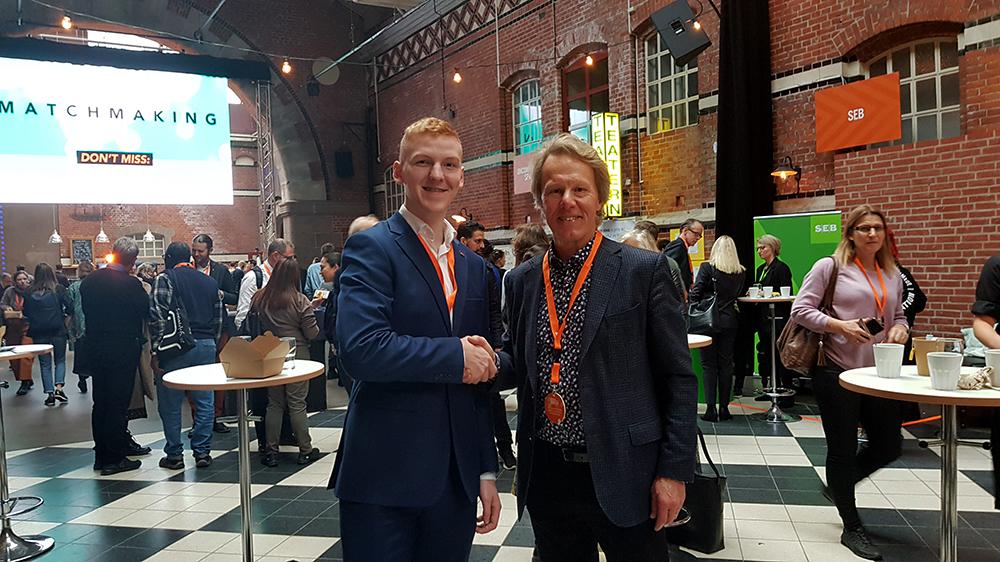 Årets vinnare av Göran Bredinger-stipendiet: Jonatan Persson från Helios Innovations