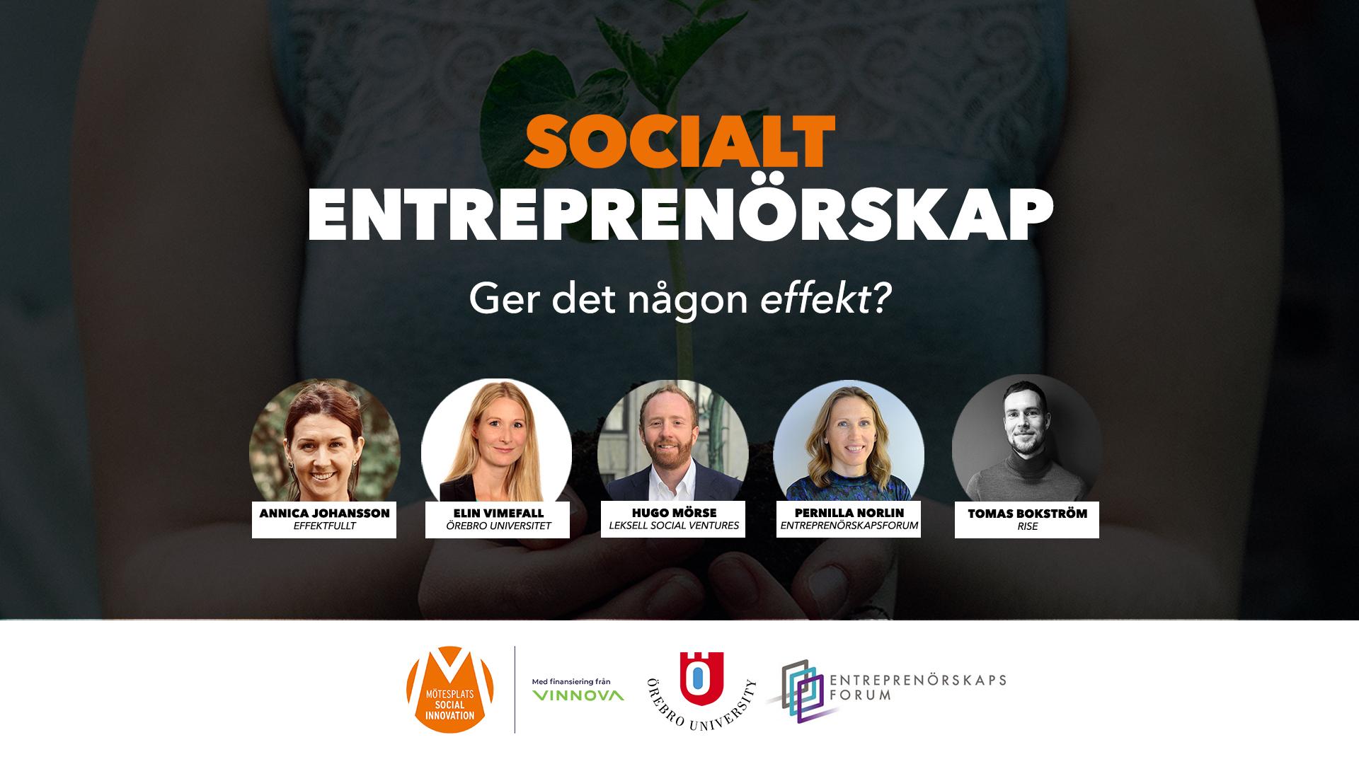 Socialt entreprenörskap – ger det någon effekt?