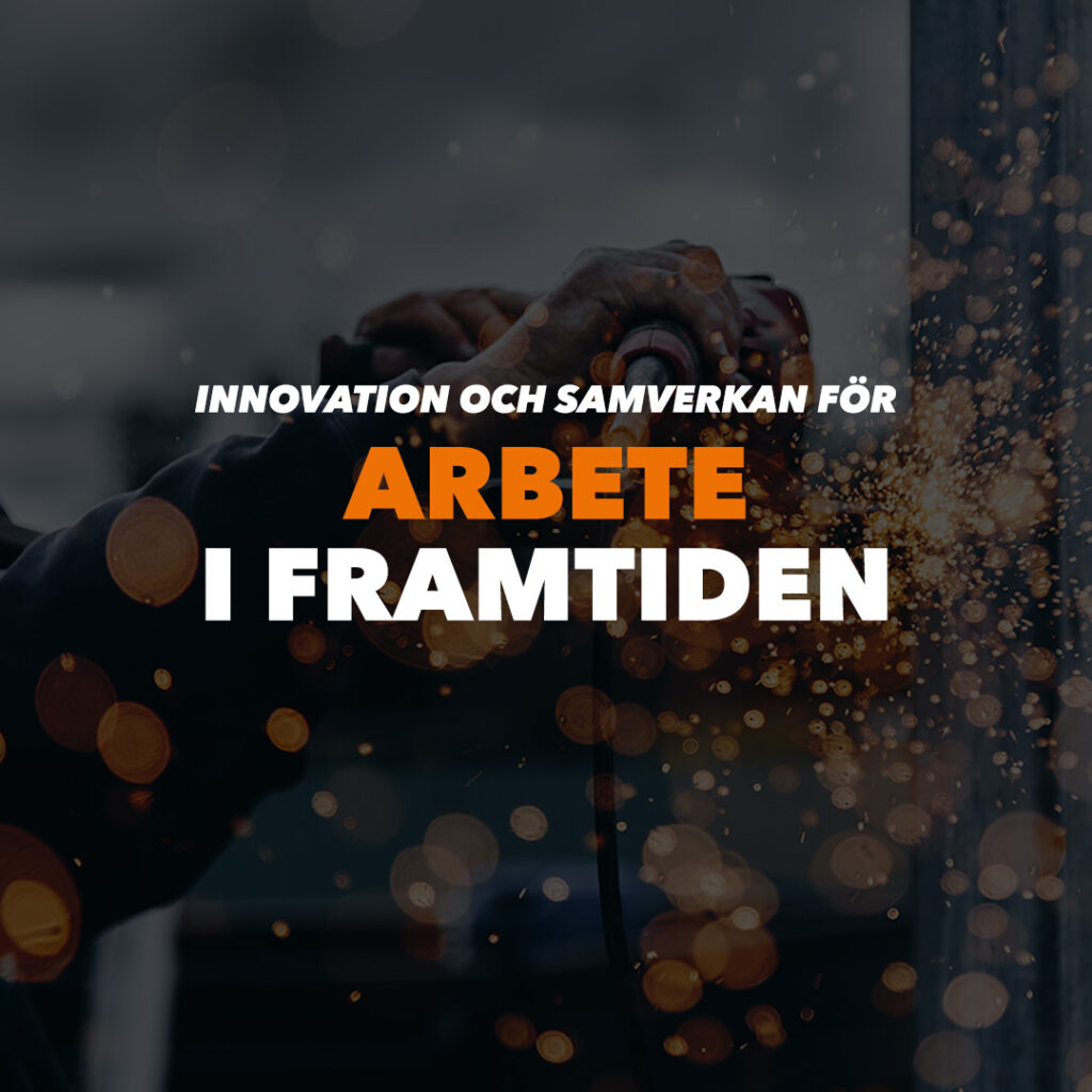 Bannerbild för tema Innovation och samverkan för arbete i framtiden