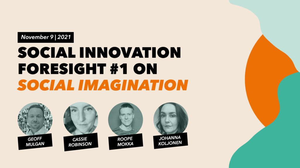 MSI lanserar nya samtalsserien Social Innovation Foresight